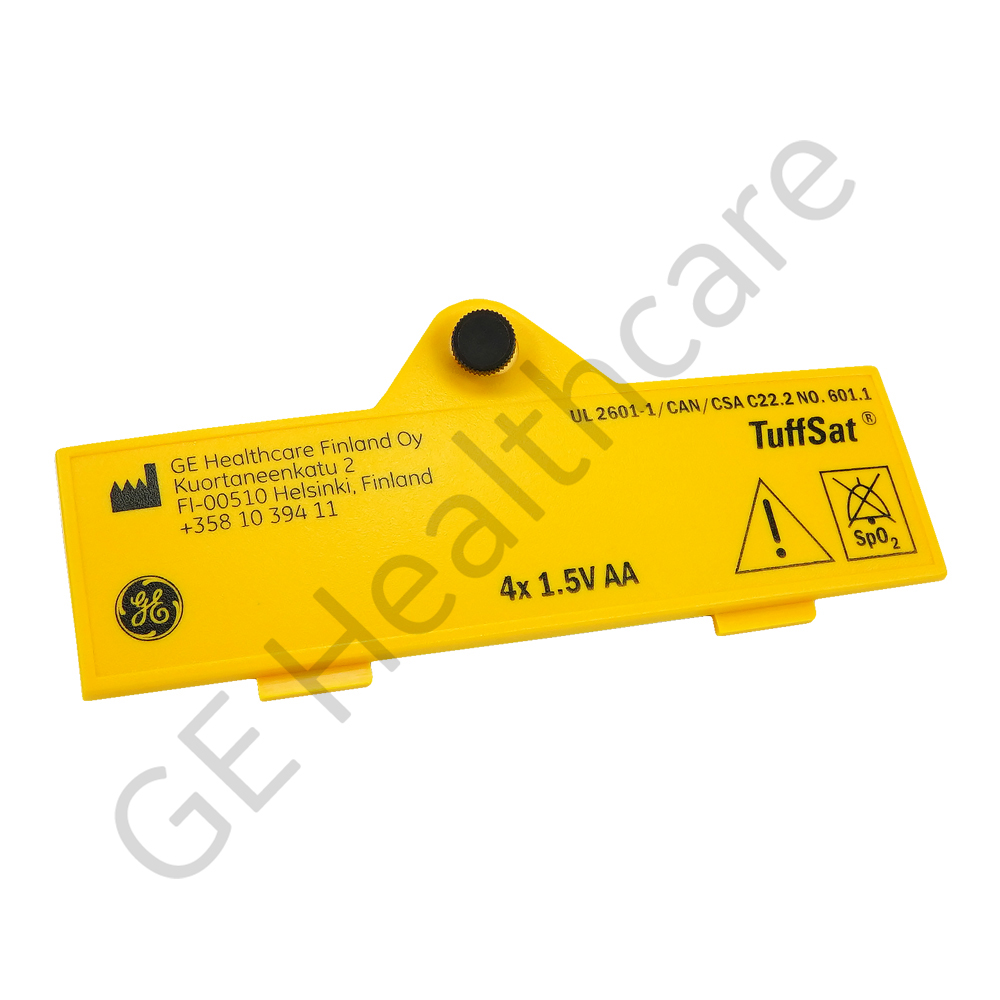 Door Battery Tuffsat Yellow with Screw