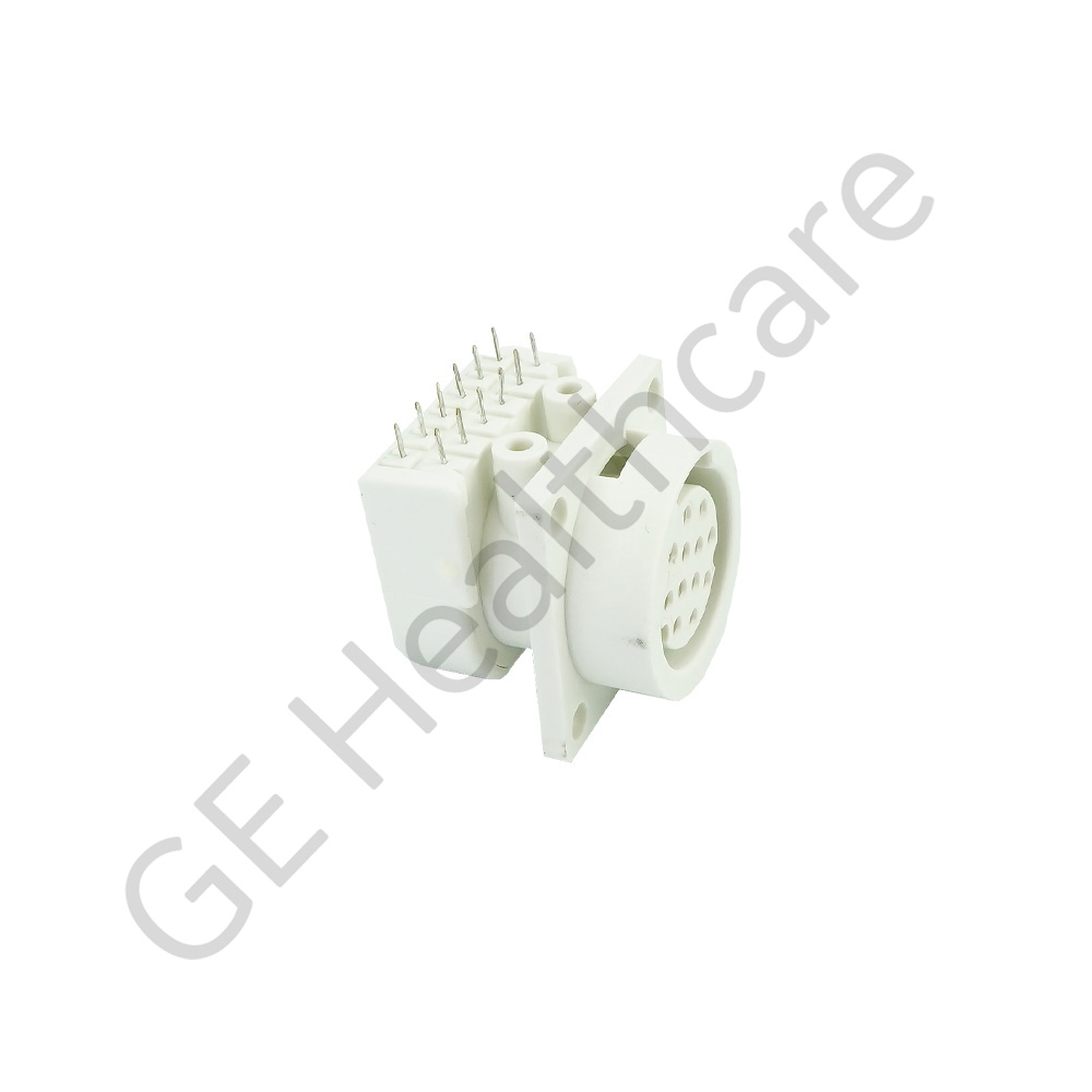 Connector 12 Pin NICOLAY Right Angle (RA) Grey-White