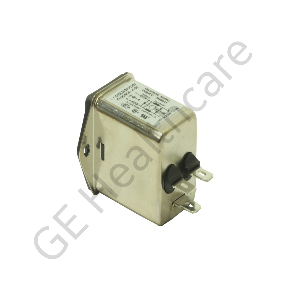4A,250 V AC Male Panel Mount IEC Inlet Filter