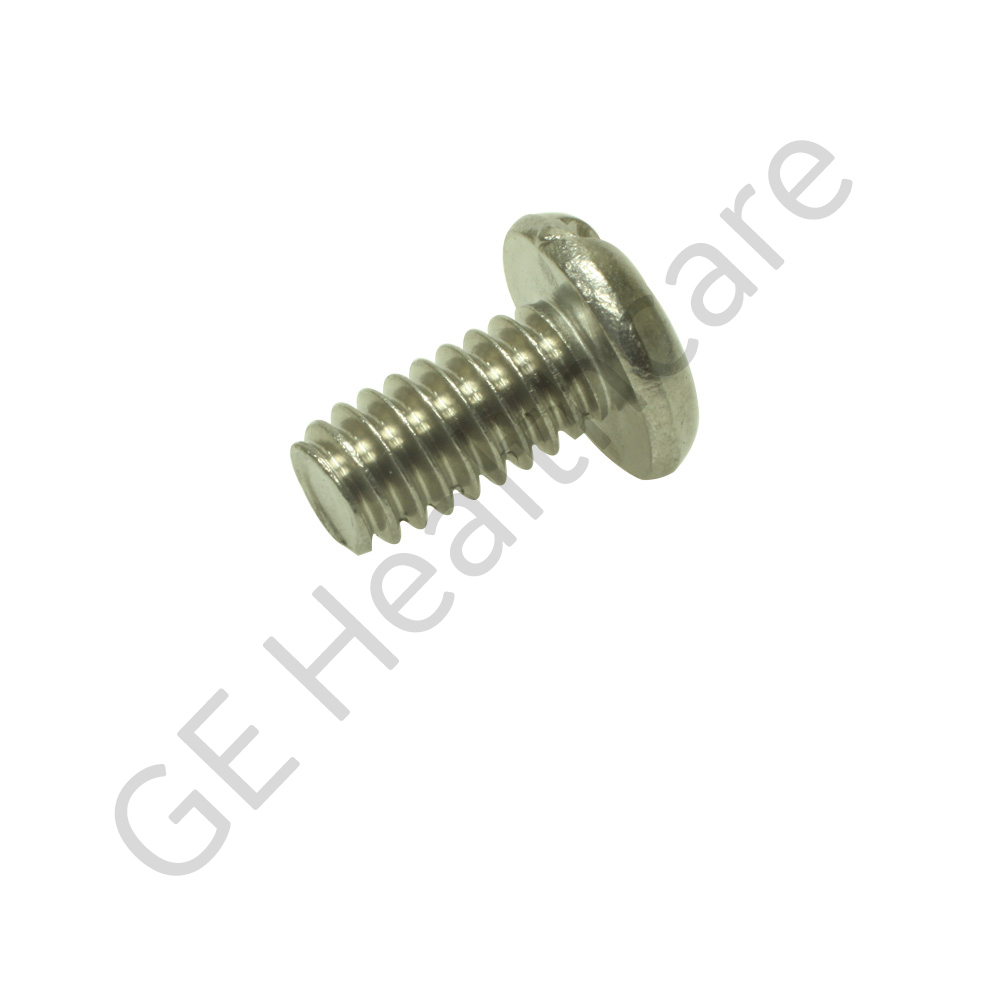 Screw Pan Head 0.250-20 x 0.50 Slotted Stainless Steel