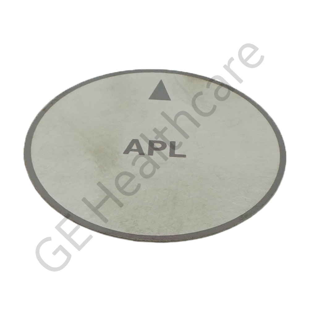 Adjustable Pressure Limiting (APL) Valve Label