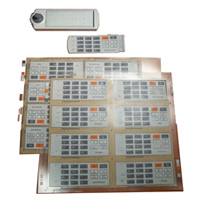 Kit Keypad or with LANG Labels