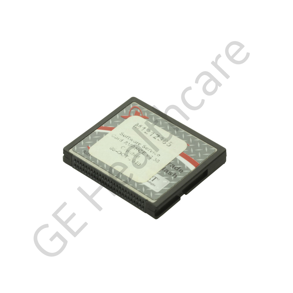 Assembly-MSN, Software Avance Service Card 3.30, Spare part - Make